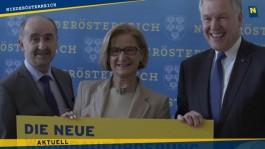 LH Mikl-Leitner und LR Eichtinger präsentieren die neue blau-gelbe Wohnbaustrategie