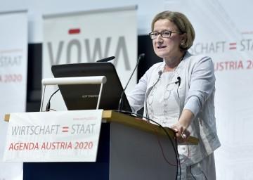"""Landeshauptfrau Johanna Mikl-Leitner eröffnete die Konferenz """"Agenda Austria 2020"""" an der Donau-Universität Krems."""