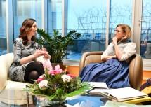 Landeshauptfrau Johanna Mikl-Leitner im Gespräch mit Dragana Milosevic, Kulturministerin der serbischen Provinz Vojvodina