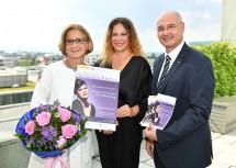 V.l.n.r.: Natalia Ushakova, Landeshauptfrau  Johanna Mikl-Leitner, Wolfgang Übl