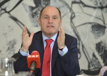 Landeshauptmann-Stellvertreter Mag. Wolfgang Sobotka informierte über die Gesundheitsreform.