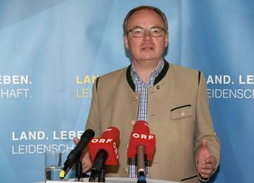 LH-Stellvertreter Stephan Pernkopf präsentierte das NÖ Agrarpaket 2017.