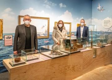 Das Land investiert 6,5 Millionen Euro für die Modernisierung und Sanierung der Schallaburg. Am Foto der Künstlerische Leiter Kurt Farasin (von links), Landeshauptfrau Johanna Mikl-Leitner und Geschäftsführer Peter Fritz.