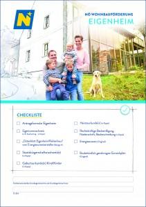 Wohnbauförderung Eigenheim Antragsmappe