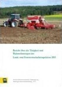 Tätigkeitsbericht der Land- und Forstwirtschaftsinspektion 2015
