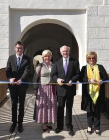 Landeshauptmann Dr. Erwin Pröll eröffnete die NÖ Landesausstellung 2017 im Schloss Pöggstall.