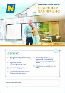 Wohnbauförderung Eigenheimsanierung Antragsmappe
