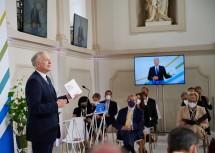 Der Präsident des Europa-Forum Wachau: Landesrat Martin Eichtinger