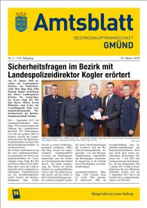 Amtsblatt BH Gmünd