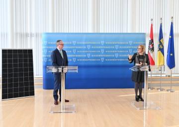 Landeshauptfrau Johanna Mikl-Leitner und LH-Stellvertreter Stephan Pernkopf: Klimaschutzpolitische Maßnahmen werden gemeinsam mit den Gemeinden umgesetzt