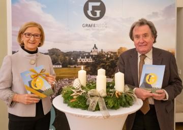 Landeshauptfrau Johanna Mikl-Leitner und der Künstlerische Leiter Rudolf Buchbinder freuen sich auf die Festival-Saison 2021.