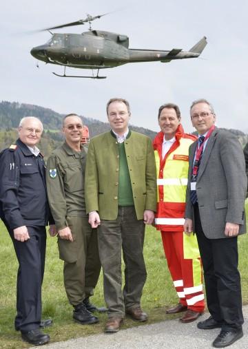 Landes-Katastrophenschutzübung in Lilienfeld