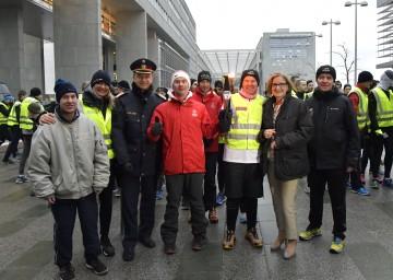 Landeshauptfrau Johanna Mikl-Leitner und Landespolizeidirektor Konrad Kogler nahmen die Begrüßung der Teilnehmerinnen und Teilnehmer im NÖ Landhaus vor.