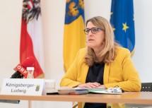 Landesrätin Ulrike Königsberger-Ludwig informierte über den aktuellen Impf-Plan.