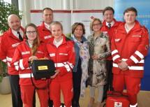 Das Rote Kreuz Niederösterreich verzeichnete im Jahr 2017 2.250 Einsätze pro Tag.