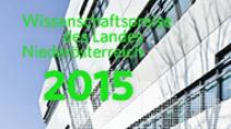 Wissenschaftspreise des Landes Niederösterreich 2015