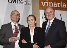 Landeshauptmann Dr. Erwin Pröll (rechs) gratulierte Ernst und Grete Triebaumer aus Rust am Neusiedlersee, die für ihr Lebenswerk ausgezeichnet wurden.