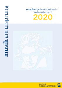 Musik am Ursprung – Musikergedenkstätten in Niederösterreich 2020
