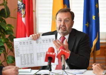 Präsident Hans Penz informierte über die Nationalratswahl