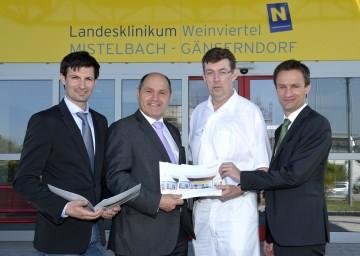 Landeshauptmann-Stellvertreter Mag. Wolfgang Sobotka zum 24-Stunden-Betrieb im Medizinischen Zentrum Gänserndorf