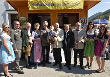 Eröffnung des Dorffestes in Furth an der Triesting durch Landeshauptmann Pröll.