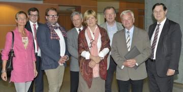 Erfahrungsaustausch bei der Tagung des Seniorenbeirates NÖ mit Landesrätin Mag. Barbara Schwarz.