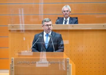Finanzlandesrat Ludwig Schleritzko zur Eröffnungsbilanz des Landes Niederösterreich und zum Rechnungsabschluss 2020.