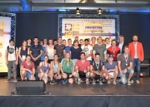 Landesrätin Mag. Barbara Schwarz gratulierte dem erfolgreichen Team der Landesberufsschule Amstetten zu fünf Goldmedaillen, zwei Silbermedaillen und zwei Bronzemedaillen.