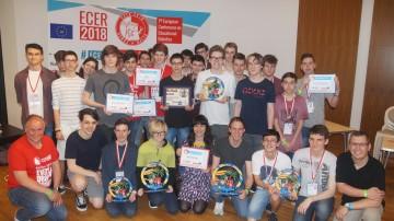 Niederösterreichs Jugendliche bei der siebenten Europameisterschaft in Robotik (ECER 2018) auf der Mittelmeerinsel Malta.